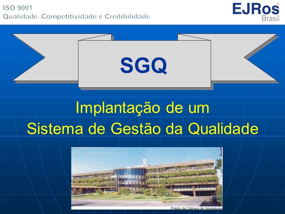 SGQ Implantação de um Sistema de Gestão da Qualidade