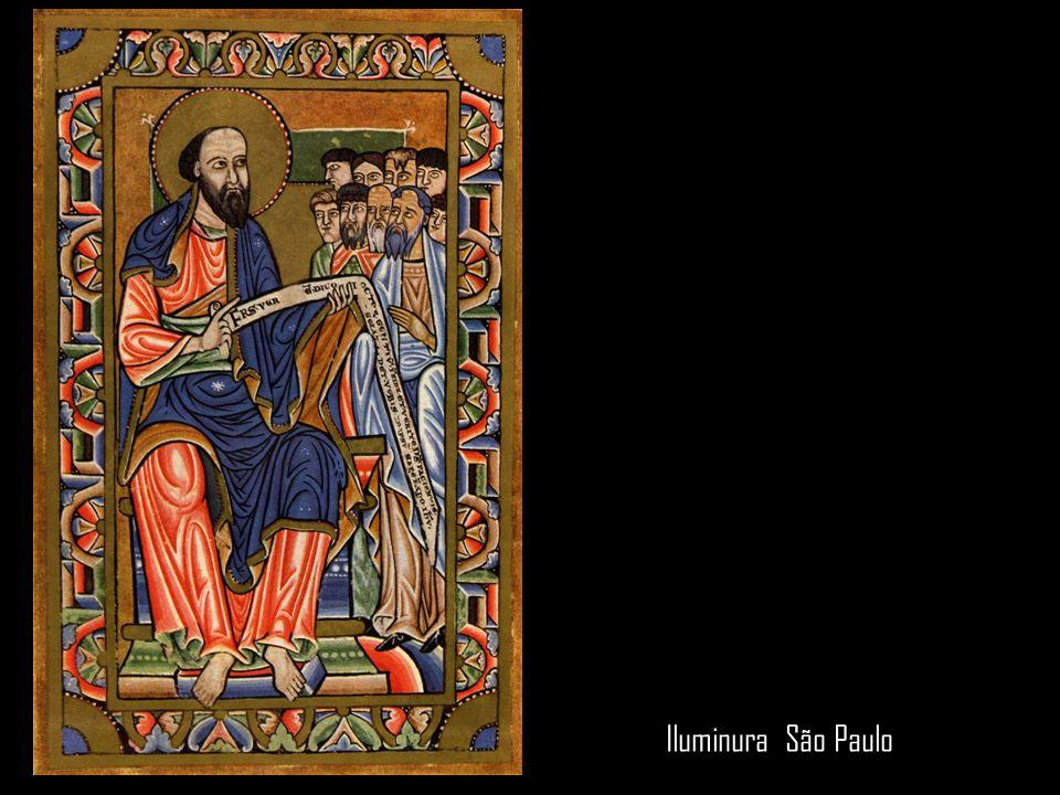 Iluminura. São João Evangelista, do Evangelho do Abade Wedricus. 1147
