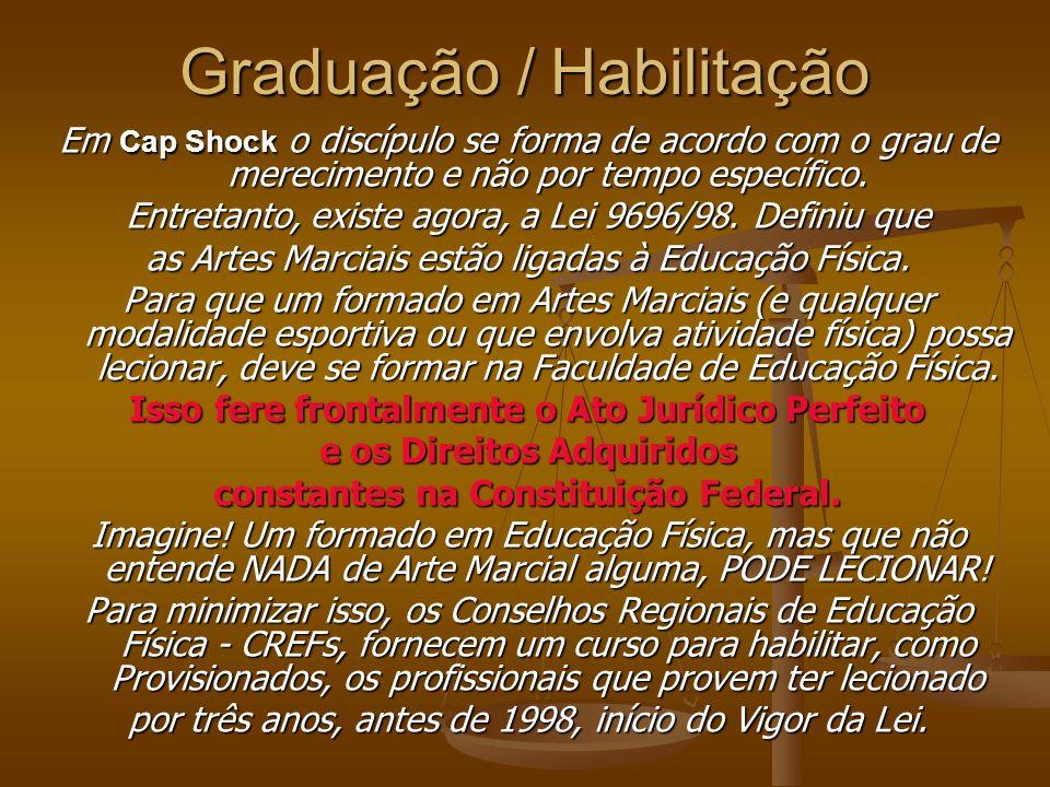 Graduação Há muito(a)s Mestres, conhecedores das Artes Marciais, humildes e respeitadores, com grande garra, combate e dedicação, que merecem o reconh