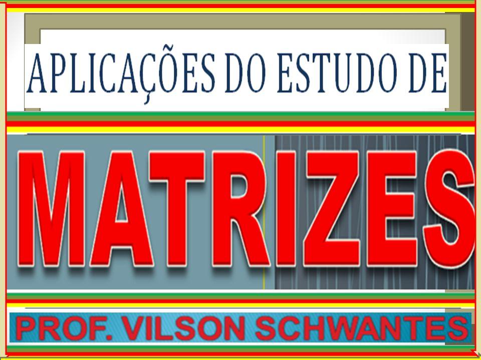 Professor Vilson Schwantes - www.pvilson.com.br Consideremos a produção de grãos em 3 regiões durante 2 anos consecutivos.