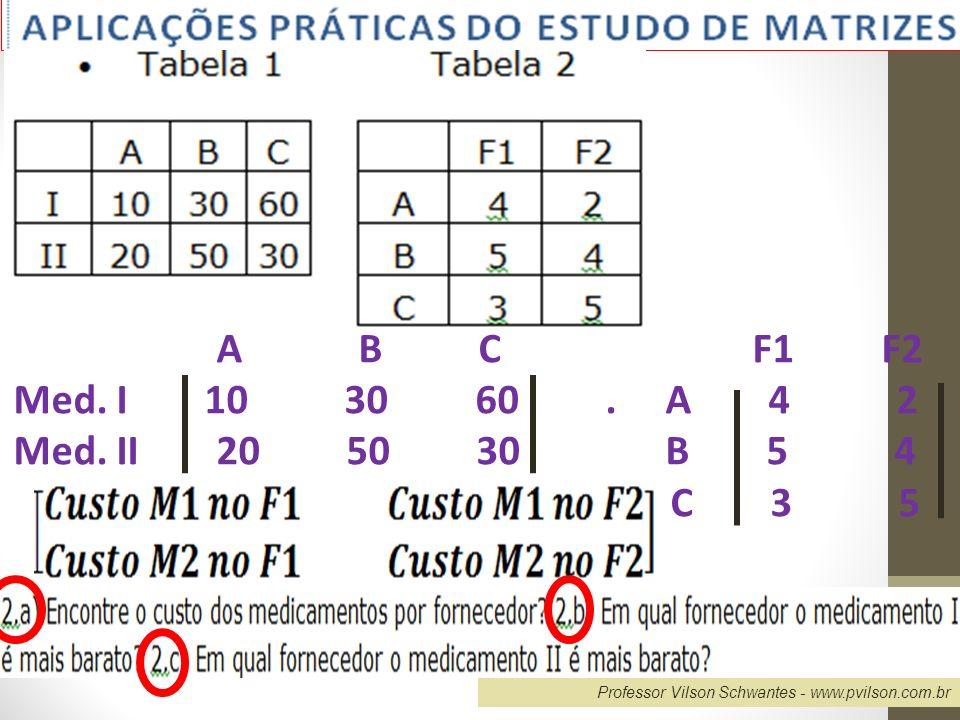 Professor Vilson Schwantes - www.pvilson.com.br Resolvendo problema 11)...