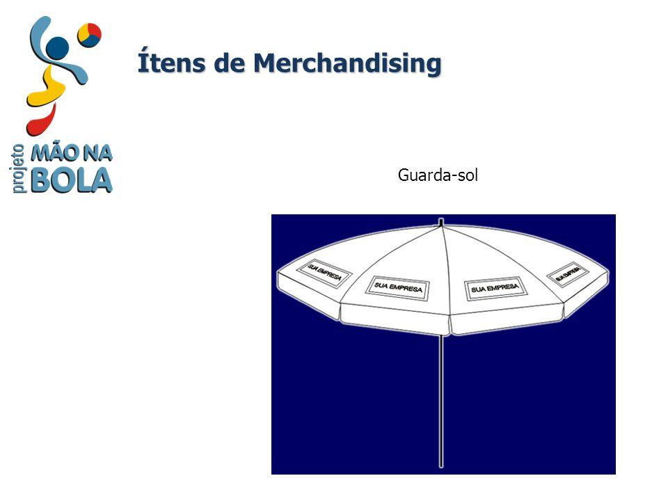 Ítens de Merchandising Guarda-sol