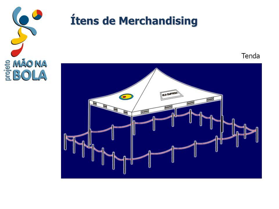 Tenda Ítens de Merchandising