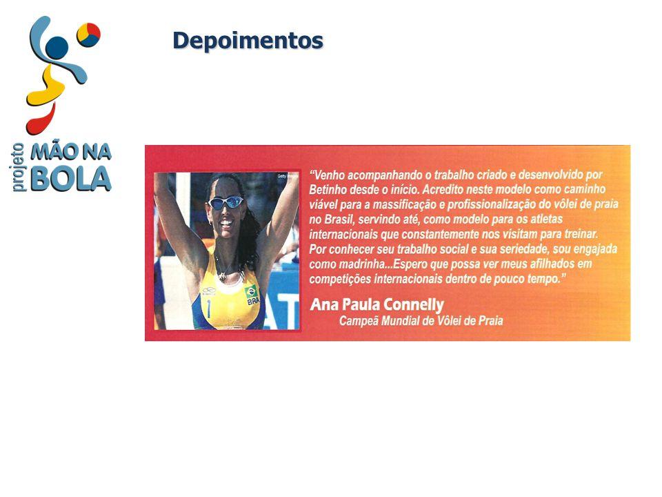 Coordenadores Coordenação Geral: Roberto Bosch / Betinho - CREF 007957 P/RJ – Coordenador Técnico de eventos de vôlei in-door e de praia desde 1999 – Fundador e Conselheiro da Associação Mão na Bola www.maonabola.org.br – Fundador e Diretor da Escola de Vôlei do Betinho www.voleibetinho.com.br www.voleibetinho.com.br – Marketing Esportivo (Ibmec - 2003) – Marketing Social (SENAC - 2002) – Há 12 anos treinador e professor de Vôlei de Praia – Certificado pela Confederação Brasileira de Voleibol, Nível II – Atleta da Seleção Brasileira in-door de 1982 à 1990