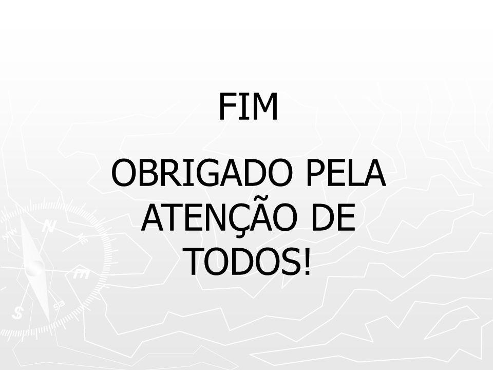 FIM OBRIGADO PELA ATENÇÃO DE TODOS!