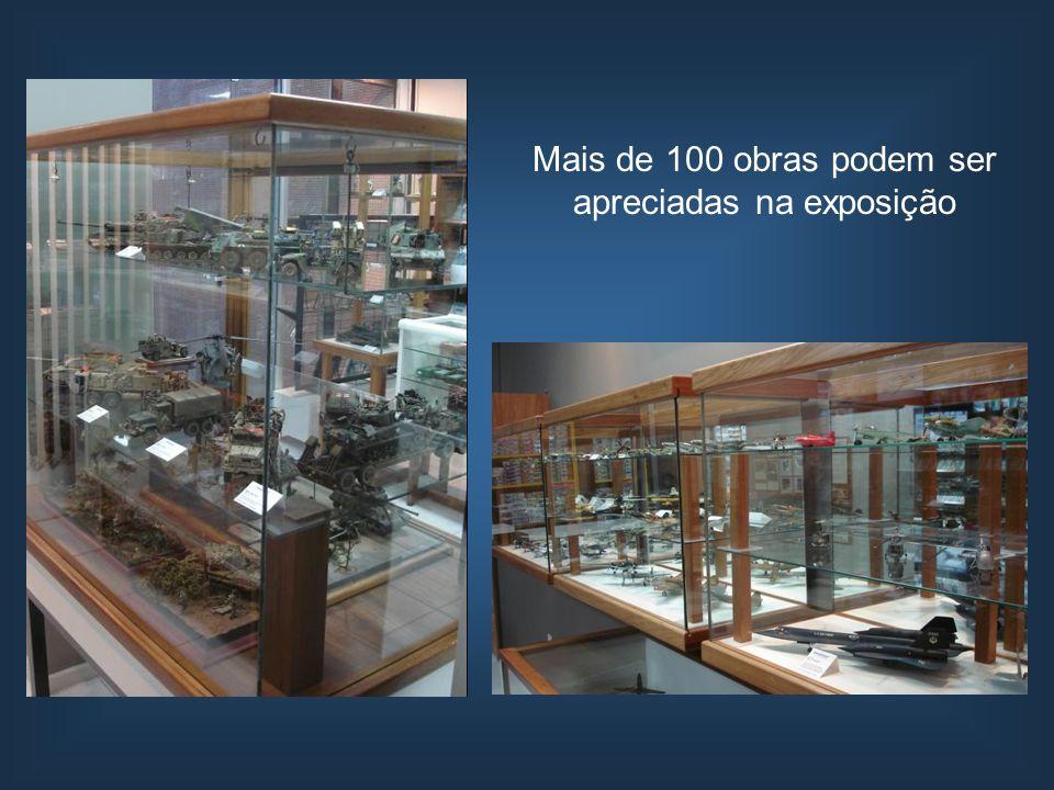 Mais de 100 obras podem ser apreciadas na exposição