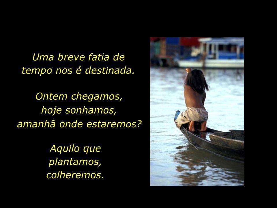 holdemqueen@hotmail.com O Rio da Vida já corre há muito antes do nosso nascimento, e continuará a fluir, indiferente, após a nossa partida.