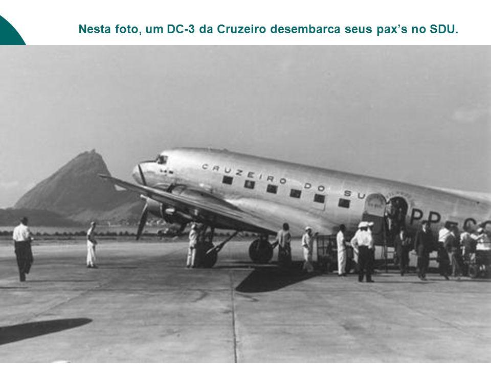 Um Convair 240 da Cruzeiro na curta final da 02.