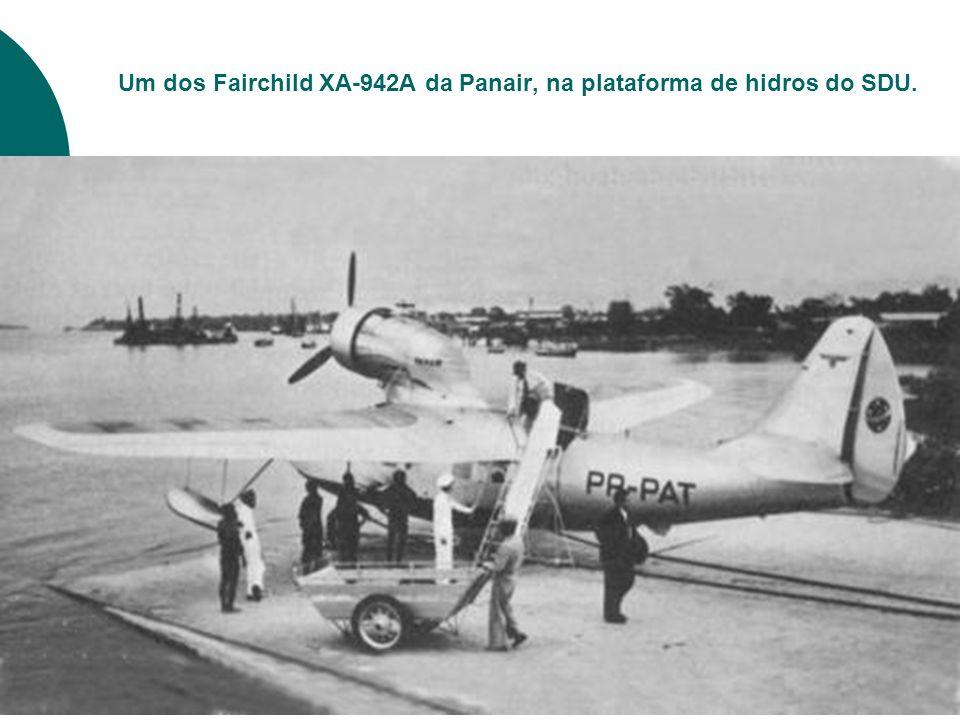 Nesta foto, um DC-3 da Cruzeiro desembarca seus paxs no SDU.