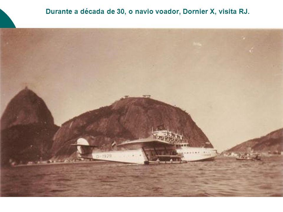 O SDU foi feito como base para hidros. Nesta foto, um Junker F13, antes da existência do aeroporto.