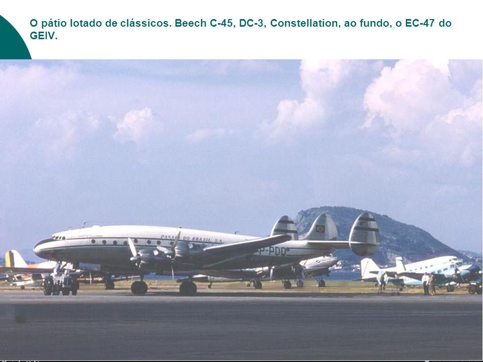 Nesta foto, lembranças do antigo aeroporto de M anguinhos...