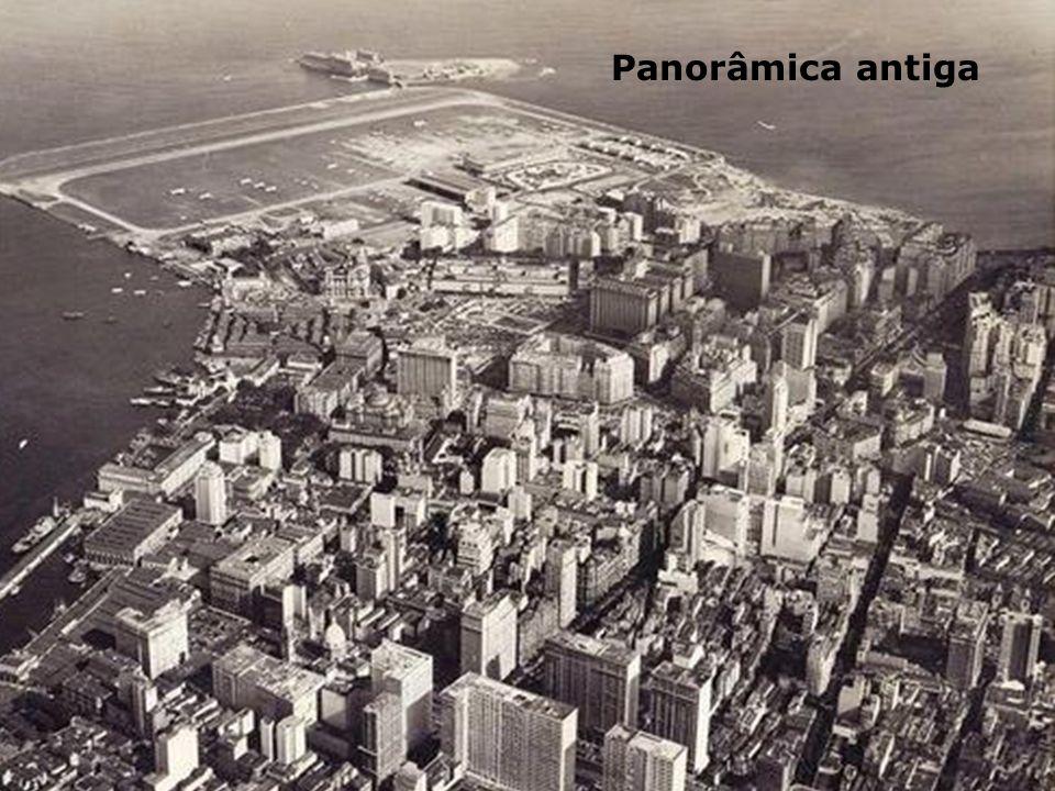 Na foto aérea o Campo do Calabouço e sua única pista..