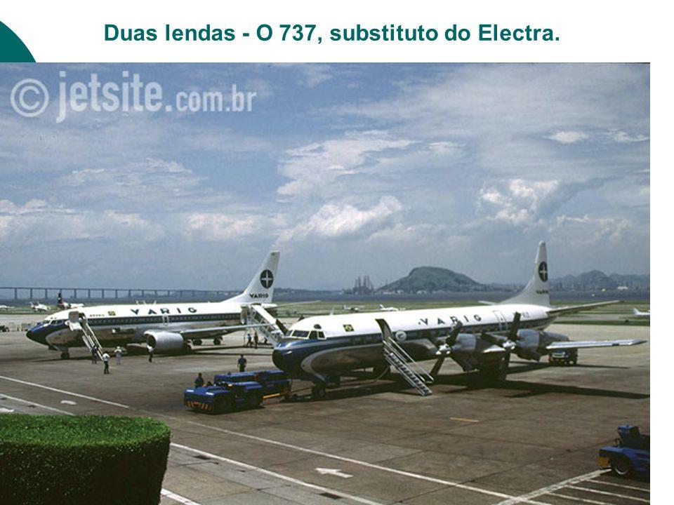 O Dirigível desfila na enseada de Botafogo.