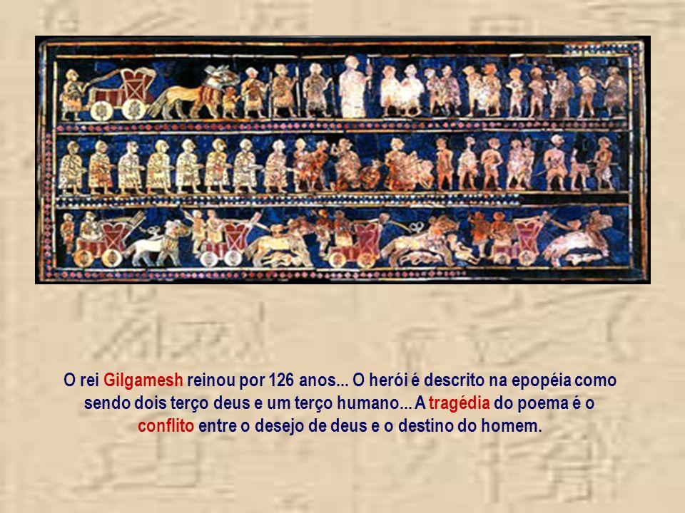 Havia 20 cidades-estados nas terras da Suméria... as mais importantes eram Ur... Kish... Eridu... Lagash e Nippur Acreditavam que cada cidade era prot