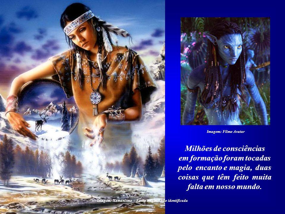 Imagem: Filme Avatar Poucos filmes conseguiram mostrar ao mundo que precisamos mudar, que há algo muito errado com os rumos de nossa civilização. Tal