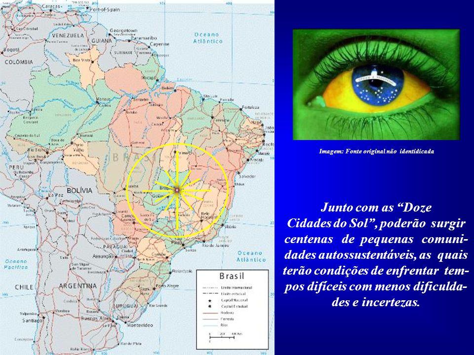 A fundação e construção das Doze Cidades do Sol, em pleno Planalto Central do Brasil inclui- se dentre as grandes providências que o nosso País deverá