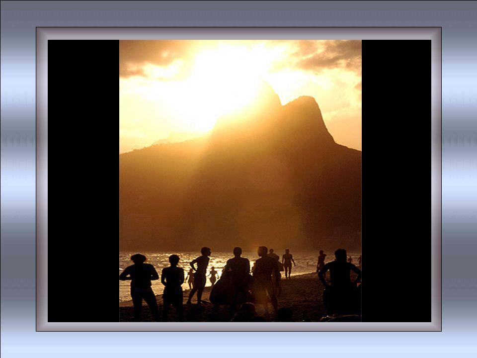 Pôr-do-Sol no Leblon É meu tema principal Já faz parte de um esquema Meu esquema pessoal...