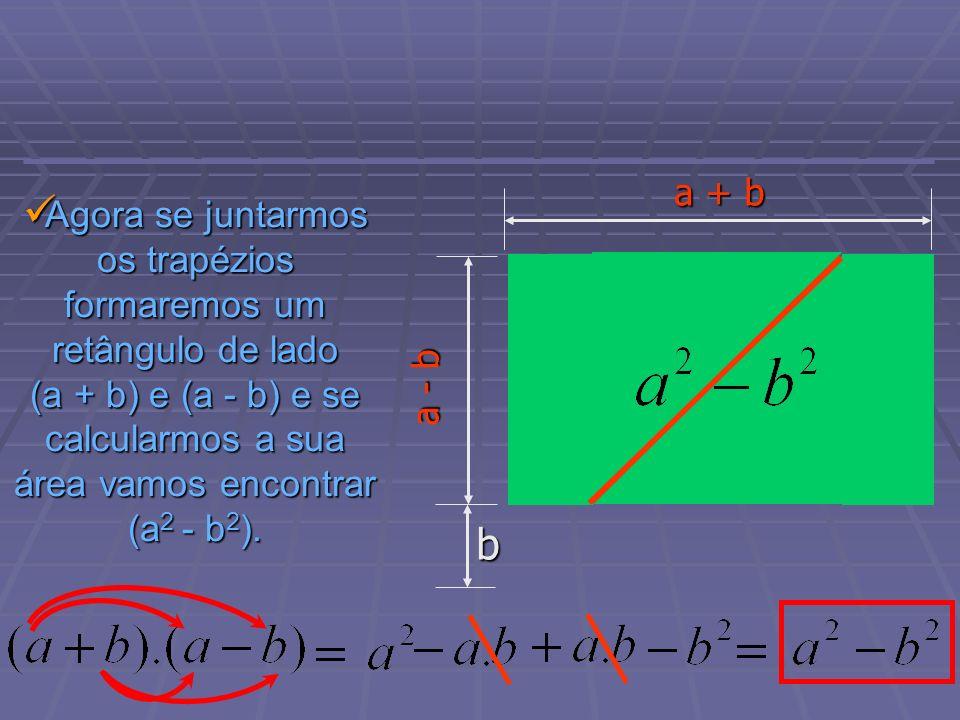 Hora da revisão: Diferença de quadrados: Diferença de quadrados: Quadrado da soma de dois termos: Quadrado da soma de dois termos: Quadrado da diferença de dois termos: Quadrado da diferença de dois termos: Cubo da soma de dois termos: Cubo da soma de dois termos: Cubo da diferença de dois termos: Cubo da diferença de dois termos: