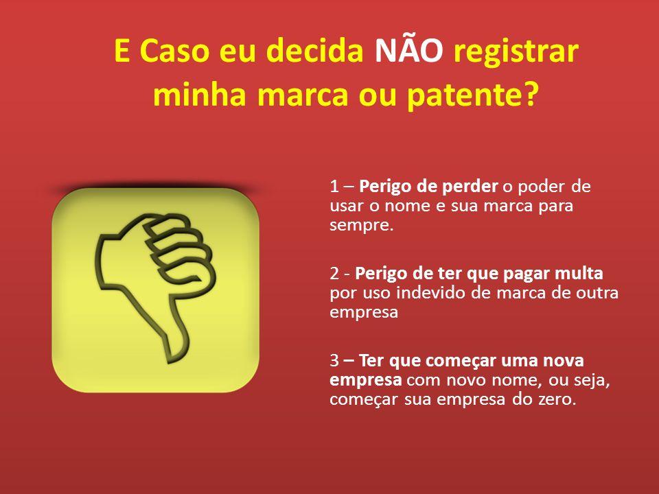 Rua Osvaldo Rodrigues Pereira, 716 – Bairro Jardim Brasília – Betim/MG – Cep: 32651-260 Site: www.registrosimplificado.com.br – E-mail: atendimento@registrosimplificado.com.br CENTRAL DE ATENDIMENTO: 0800 773 6026 – Ramal 4308 - (31) 3075-9635 E Caso eu decida NÃO registrar minha marca ou patente.