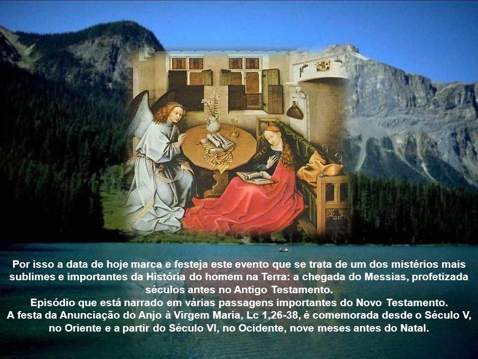 A.41.7 Plenitude do tempo tem início na Anunciação § 484.