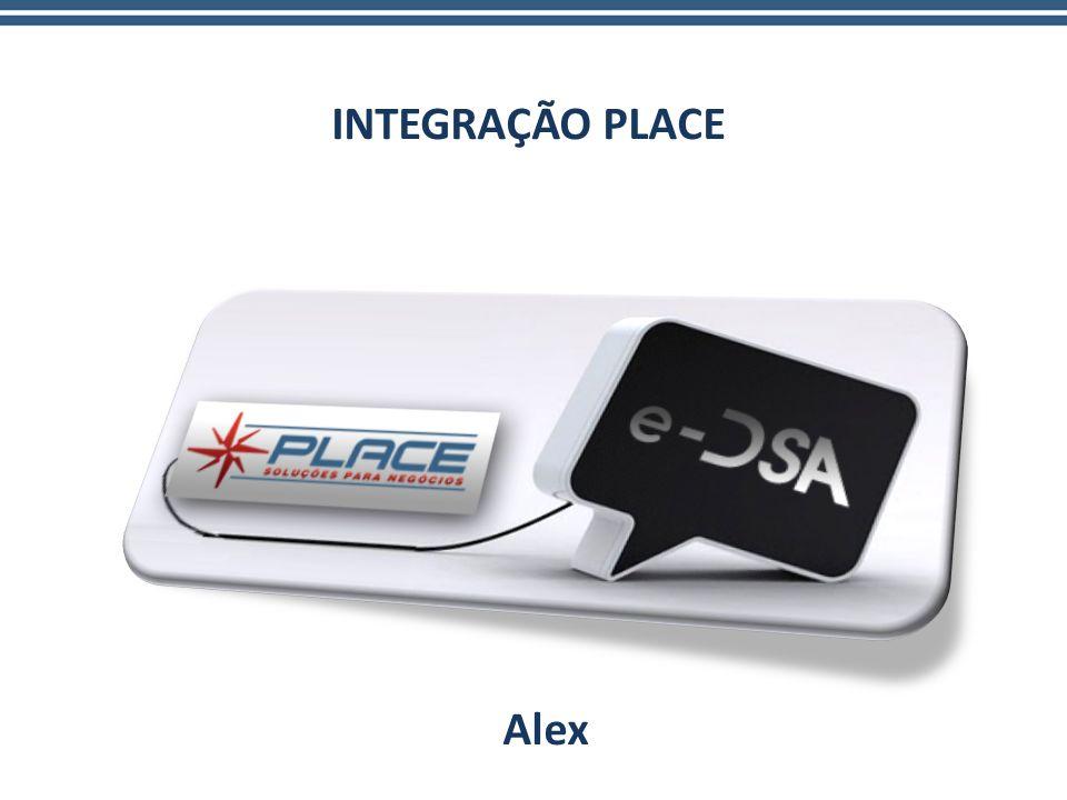 INTEGRAÇÃO PLACE Alex