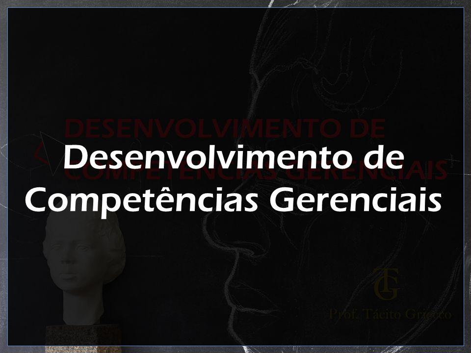 Desenvolvimento de Competências Gerenciais
