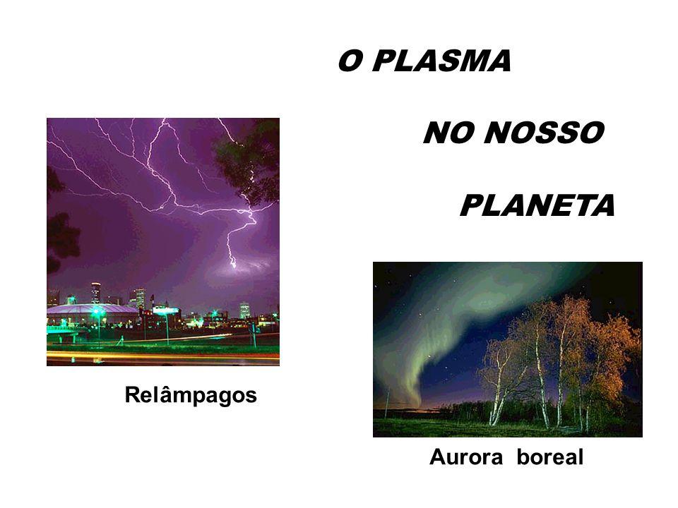 Relâmpagos Aurora boreal O PLASMA NO NOSSO PLANETA