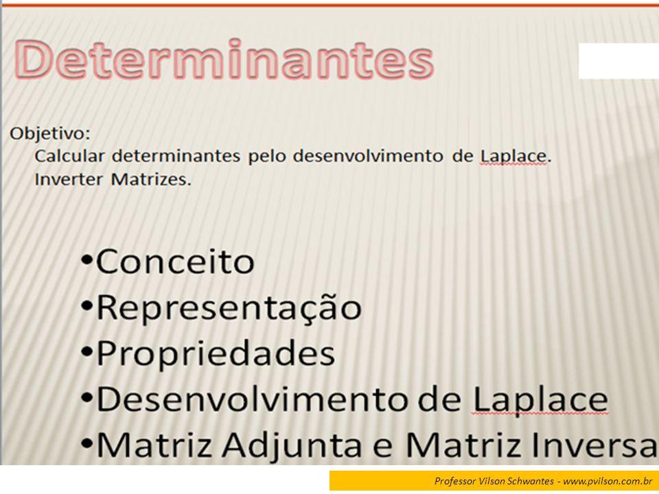 CALCULE O DETERMINANTE DA MATRIZ.