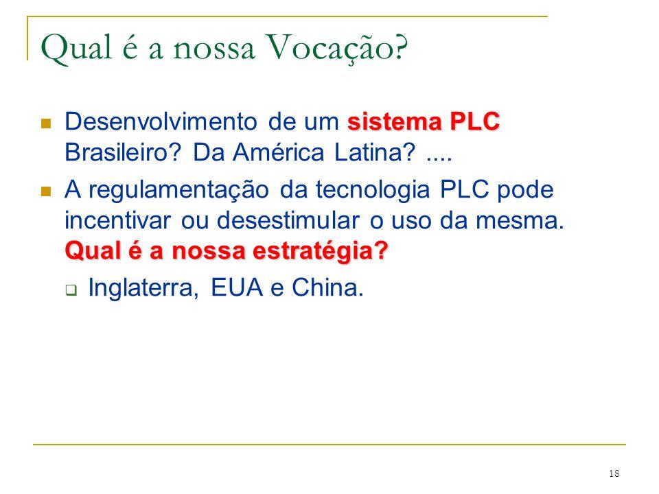 18 sistema PLC Desenvolvimento de um sistema PLC Brasileiro.