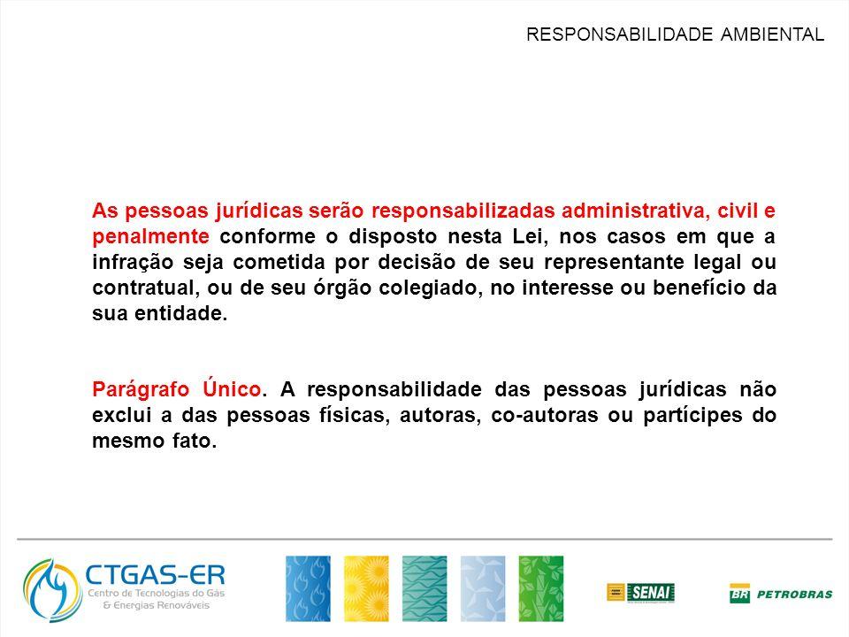 RESPONSABILIDADE AMBIENTAL Constituição Federal /88, Capítulo do Meio Ambiente: Art.