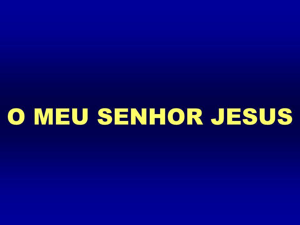 O MEU SENHOR JESUS