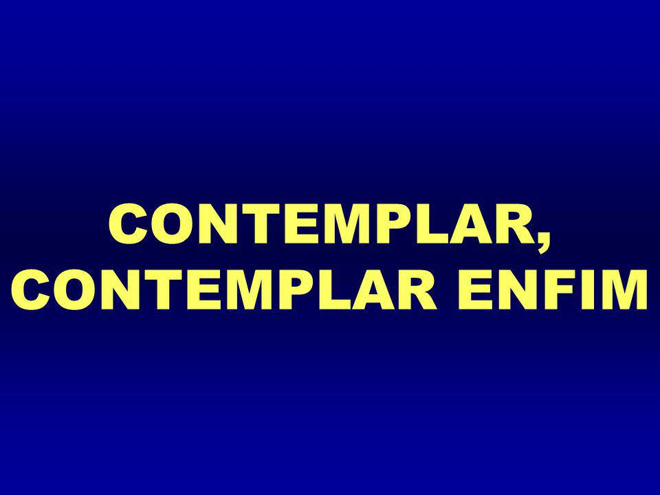 CONTEMPLAR, CONTEMPLAR ENFIM