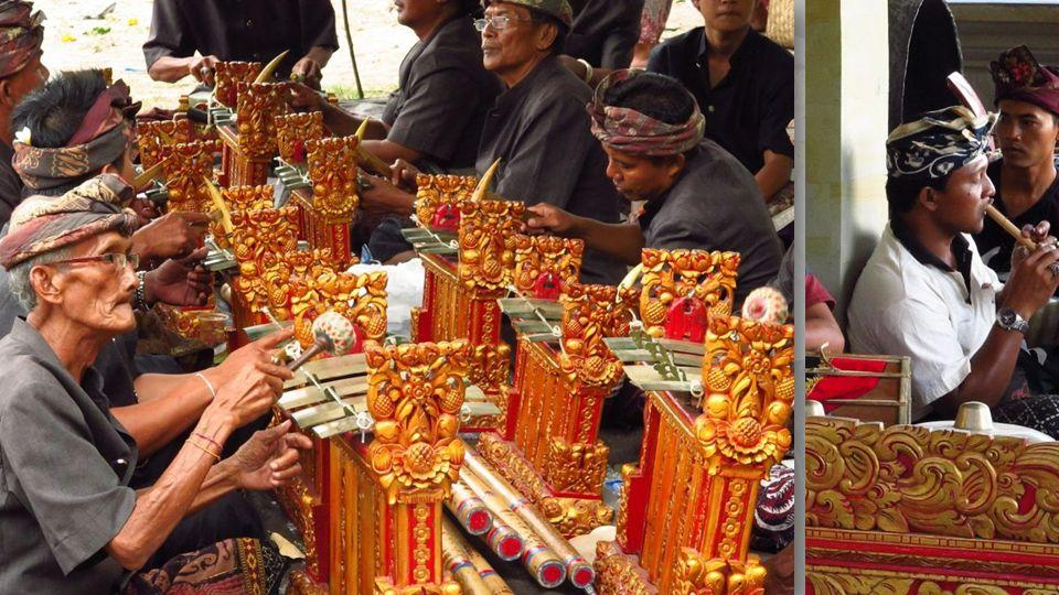 Homens e mulheres costumam fazer em grupos separados, com exceção do pesindhen, a cantora que se apresenta com grupos masculinos.