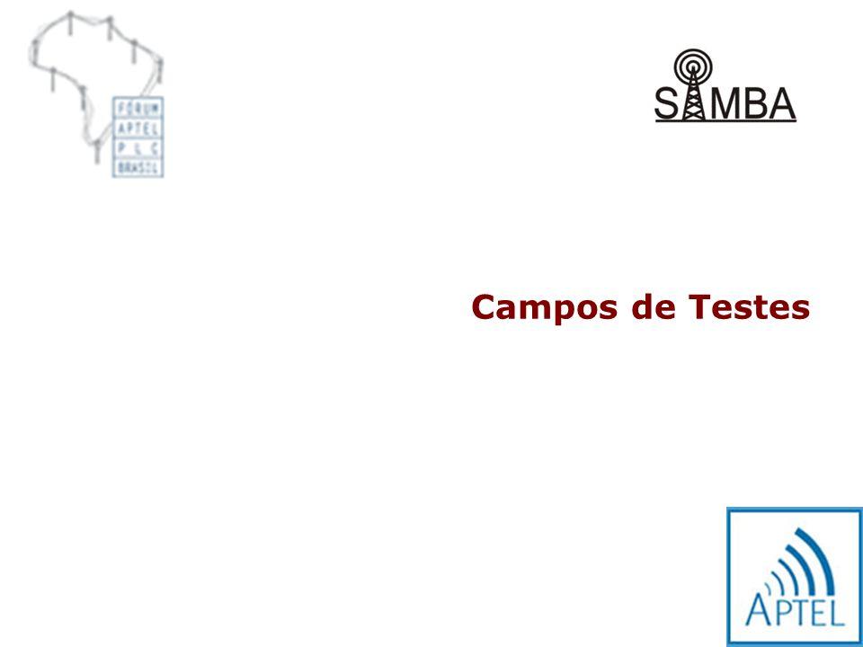 Campos de Testes