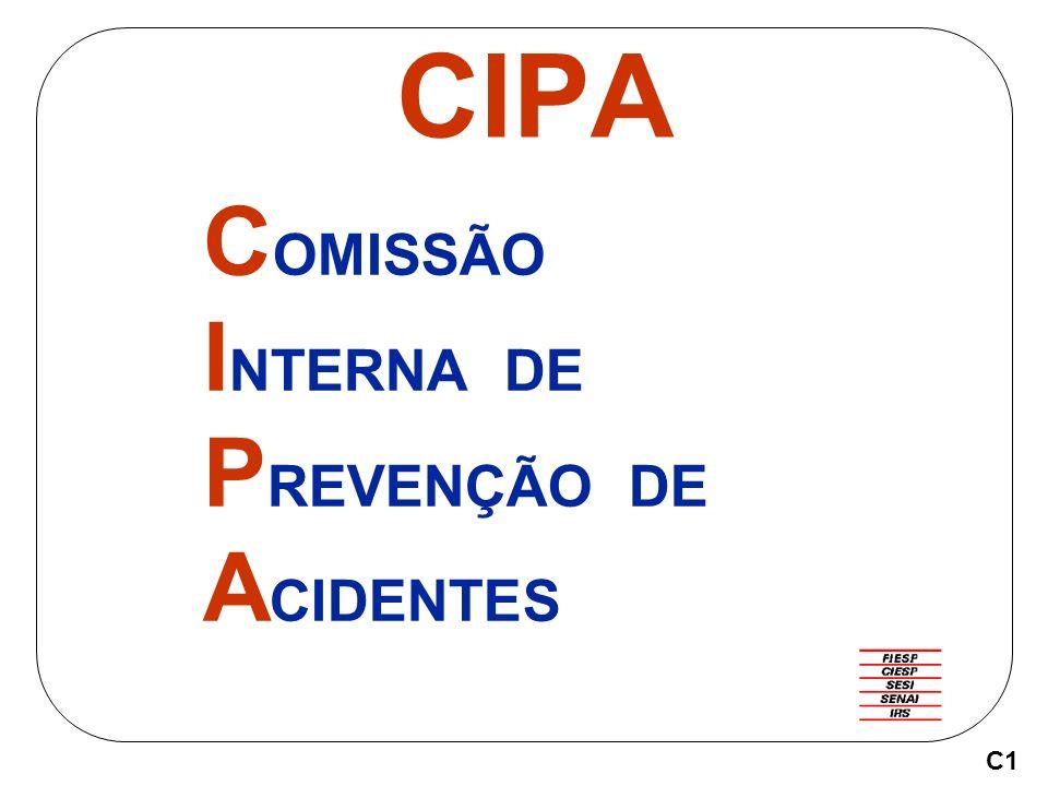 CIPA C OMISSÃO I NTERNA DE P REVENÇÃO DE A CIDENTES C1