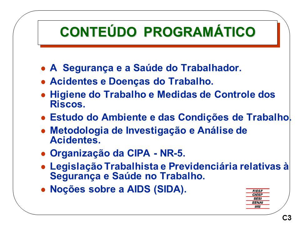 RISCOS AMBIENTAIS RISCOS FÍSICOS RISCOS QUÍMICOS RISCOS BIOLÓGICOS RISCOS ERGONÔMICOS RISCOS DE ACIDENTES C14