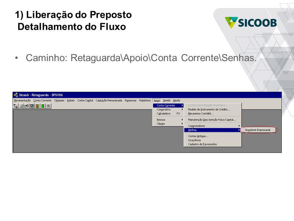 2) Instalação do SicoobNet Detalhamento do Fluxo Clicar para iniciar a instalação.