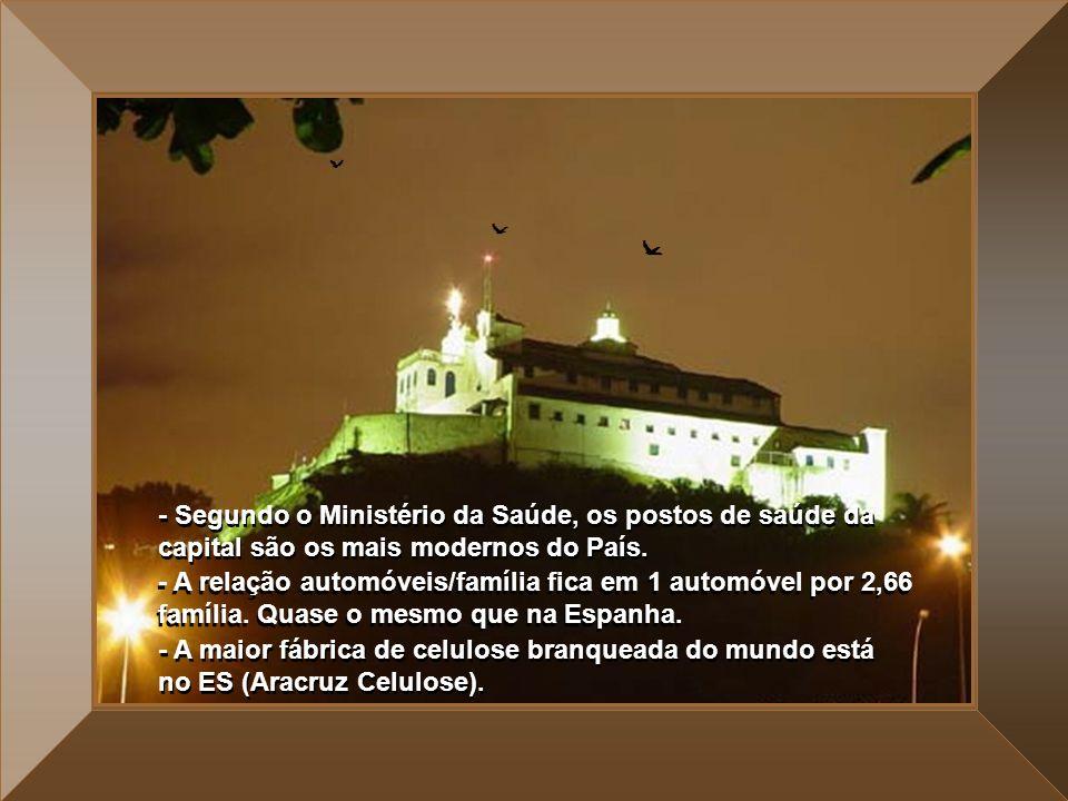 - A taxa de turistas que visitam os municípios de Guarapari, Vila Velha e Vitória no verão é de mais de 1.000.000 (Um milhão) de pessoas. Levando-se e