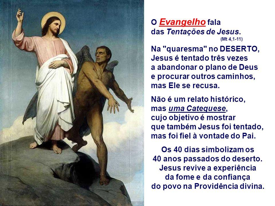 A 2ª Leitura propõe dois exemplos: Adão e Jesus. (Rm 5,12-19) ADÃO representa o homem que escolhe ignorar as propostas de Deus e decidir, por si, os c