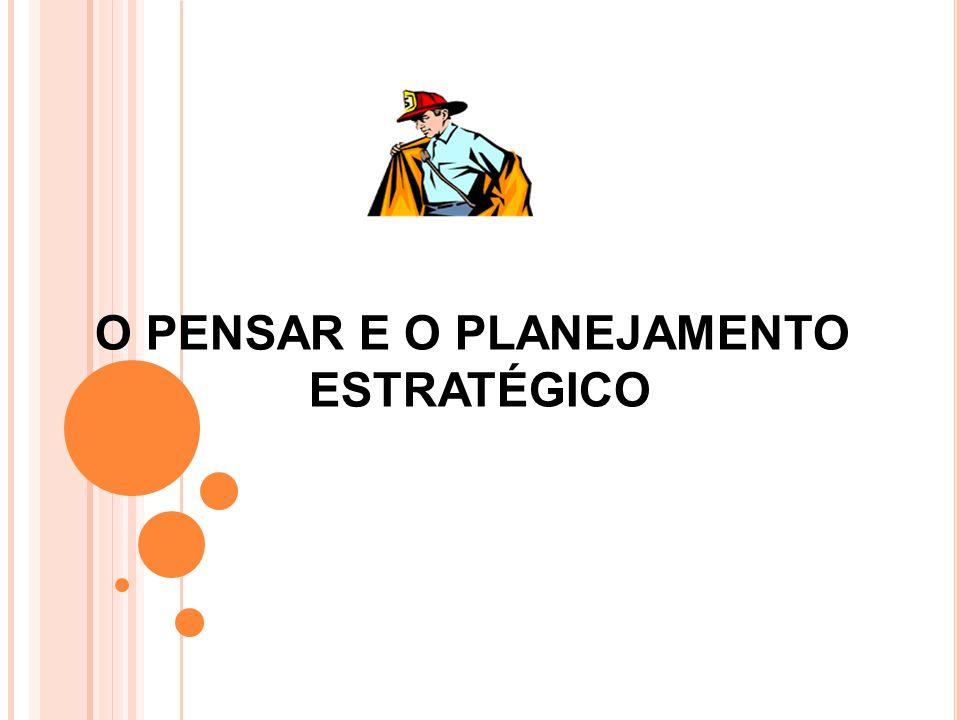 O PENSAR E O PLANEJAMENTO ESTRATÉGICO