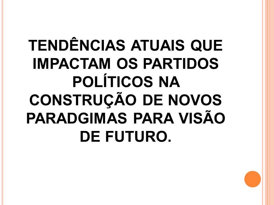 TENDÊNCIAS ATUAIS QUE IMPACTAM OS PARTIDOS POLÍTICOS NA CONSTRUÇÃO DE NOVOS PARADGIMAS PARA VISÃO DE FUTURO.
