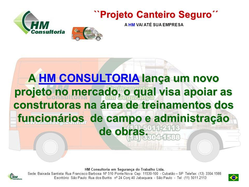 A HM CONSULTORIA lança um novo projeto no mercado, o qual visa apoiar as construtoras na área de treinamentos dos funcionários de campo e administraçã