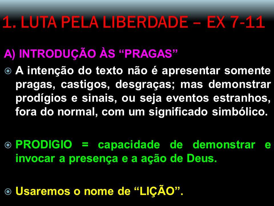 1.LUTA PELA LIBERDADE – EX 7-11 B) INTRODUÇÃO AO TEXTO 4.
