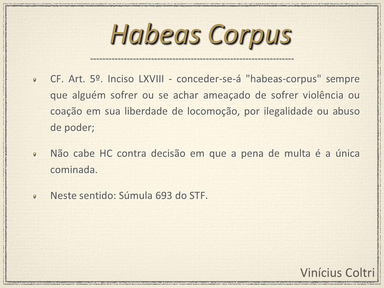 Vinícius Coltri CF.Art. 5º.