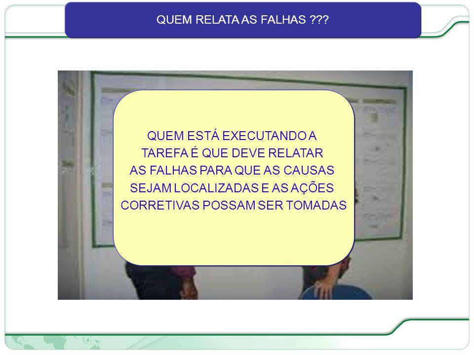 71 de 66 QUEM RELATA AS FALHAS ??.