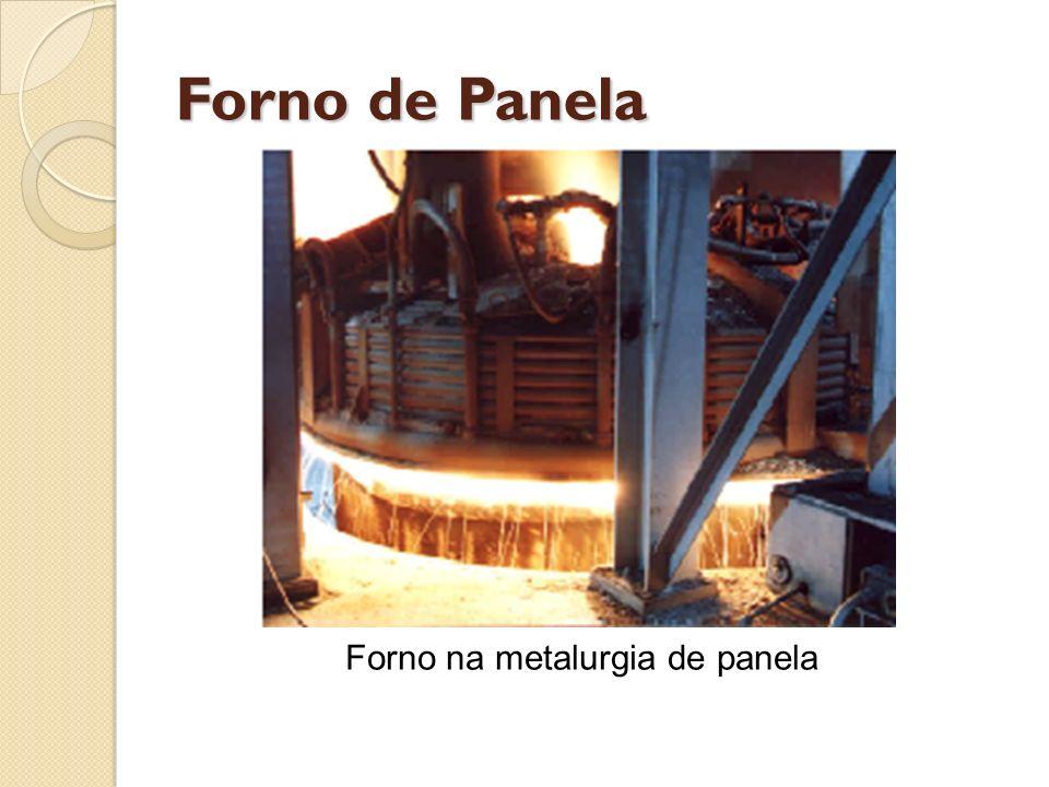 Forno de Panela Forno na metalurgia de panela
