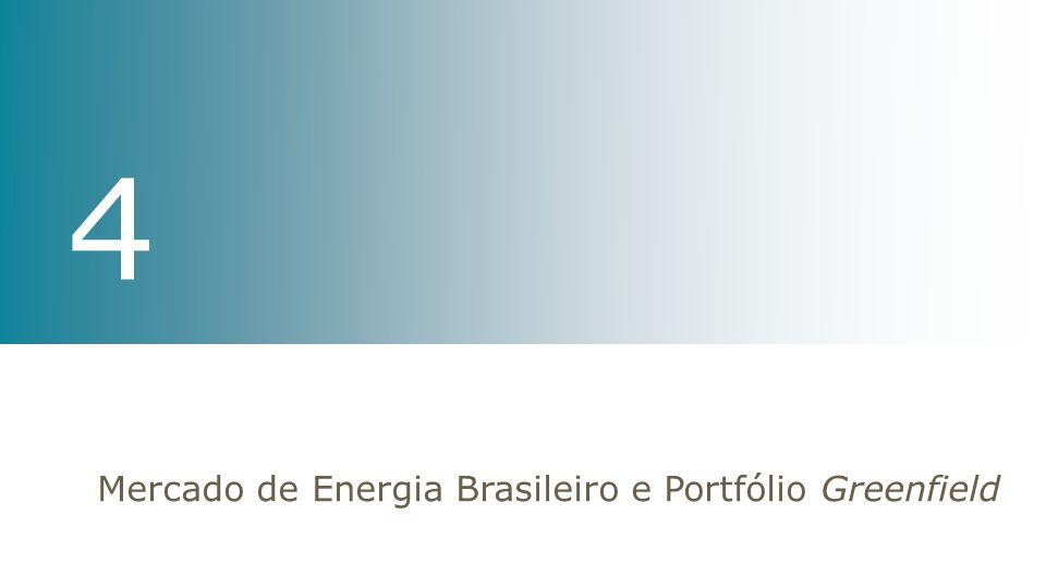 Mercado de Energia Brasileiro e Portfólio Greenfield 4