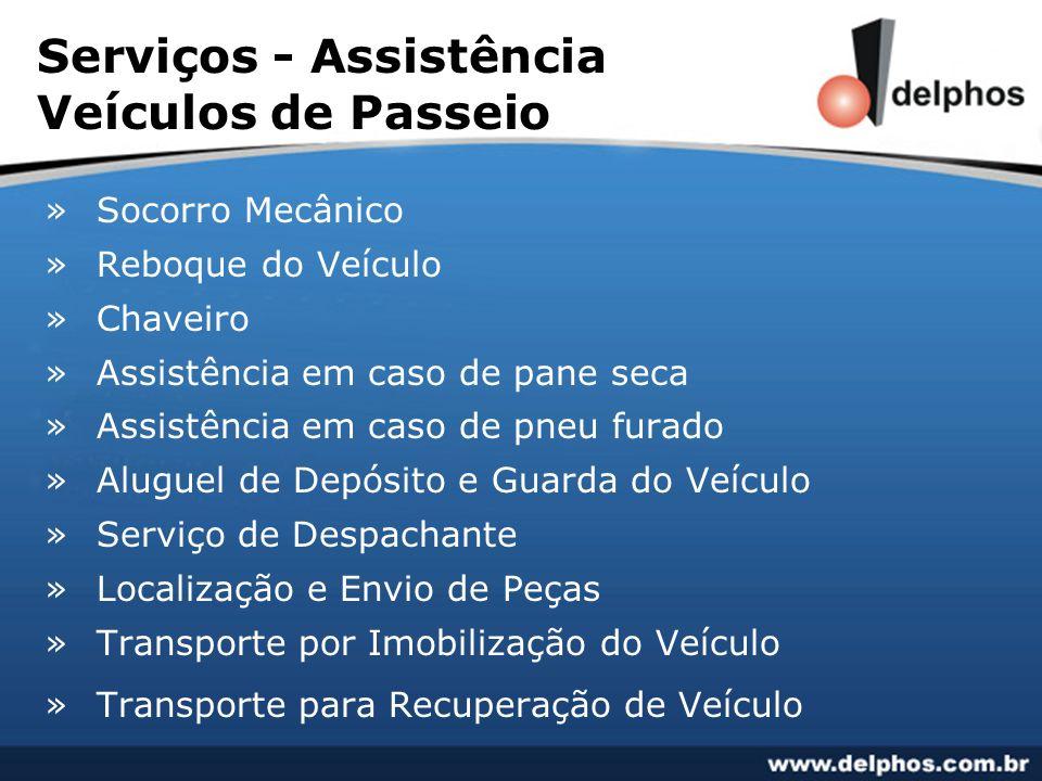 Serviços - Assistência Veículos de Passeio » Socorro Mecânico » Reboque do Veículo » Chaveiro » Assistência em caso de pane seca » Assistência em caso