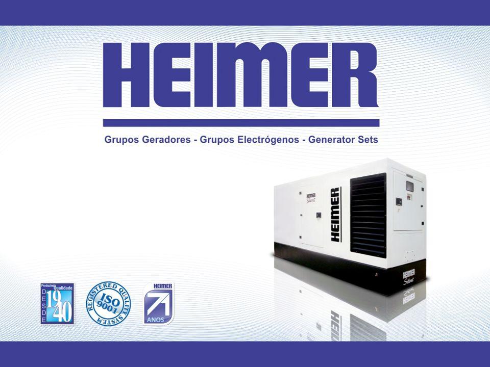Desde sua fundação em 1940, a Heimer tem se dedicado com sucesso à fabricação de Grupos Geradores de Energia, Grupos de Solda, Quadros de Comando, Motobombas, Motores e Alternadores.
