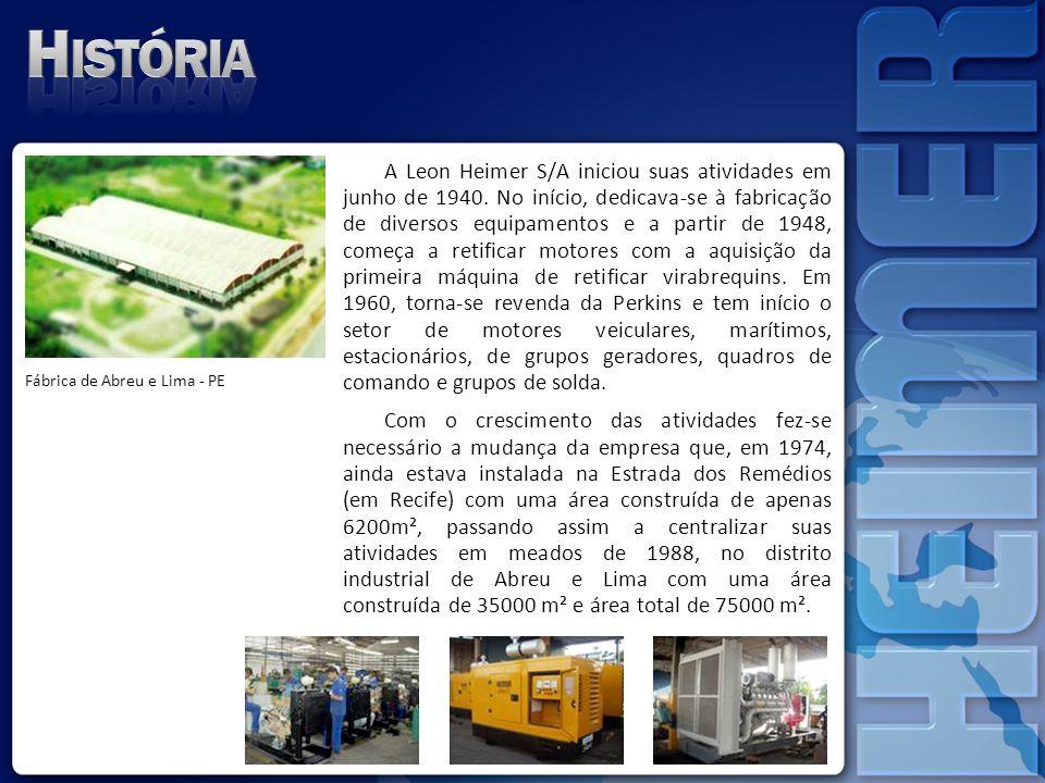 A empresa começa a exportar seus produtos, principalmente Grupos Geradores de Energia para países da América do Sul.